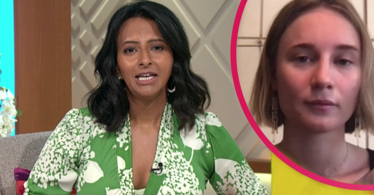Lorraine today: Ranvir Singh hosted and debated whether to outlaw wolf-whistling