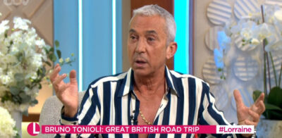 Lorraine today: Bruno Tonioli's shirt distracts viewers