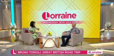 Lorraine today: Bruno Tonioli talks new travel show