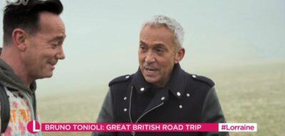 Lorraine today: Bruno Tonioli talks about new travel show