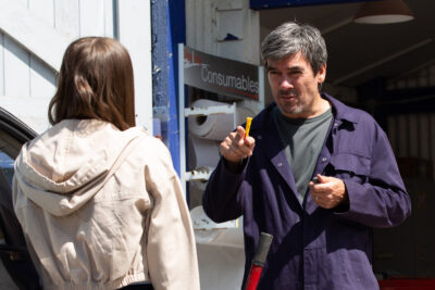 Cain Dingle casts out Faith in Emmerdale