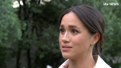 Harry and Meghan: the duchess upset on TV
