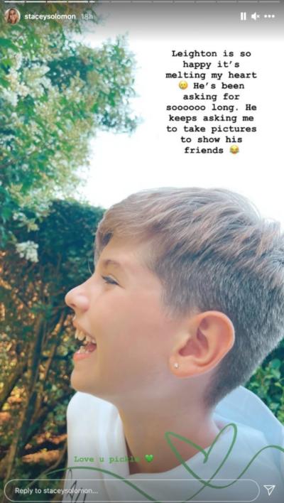 Joe Swash sister: Star got matching ear piercings with Leighton