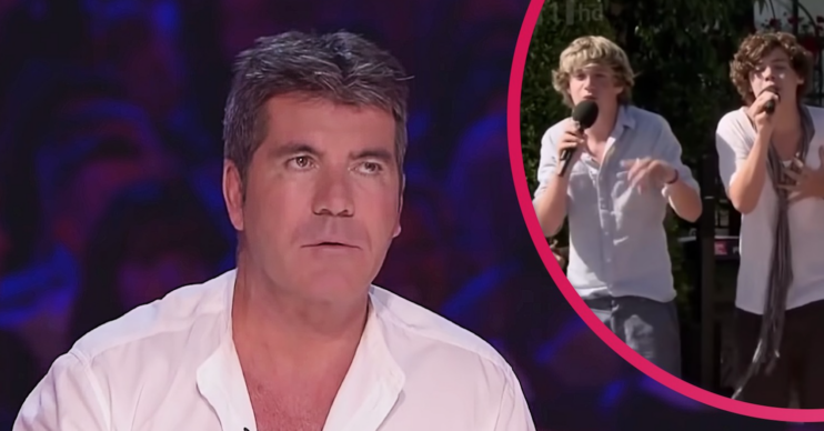 Simon Cowell on The X Factor after it was axed by ITV