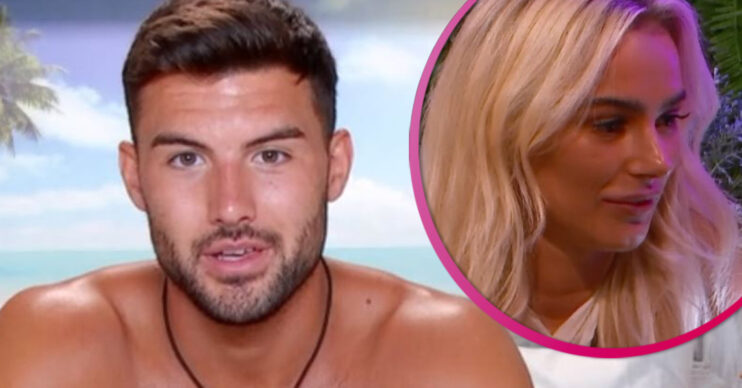 love island star liam and lillie