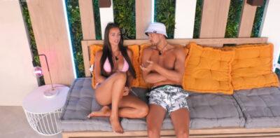 Love Island Hugo and Amy