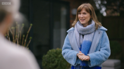 Fiona Bruce looked gobsmacked on Fake Or Fortune on BBC One