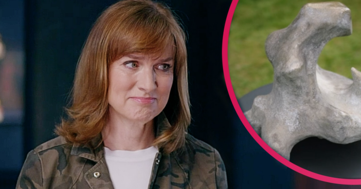 Fiona Bruce looks gutted as she delivered the news to Neil and Barbara