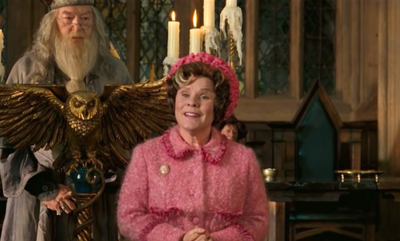 Harry Potter couldn't quite get over seeing Imelda Staunton as the Queen in The Crown