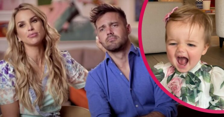 Spencer Matthews and wife Vogue Williams open up about 'fat maggot' baby Gigi