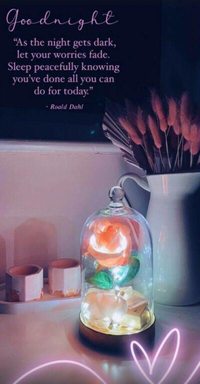 Stacey Solomon quotes Roald Dahl on Instagram