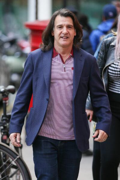 Barbara Windsor's husband Scott Mitchell in London