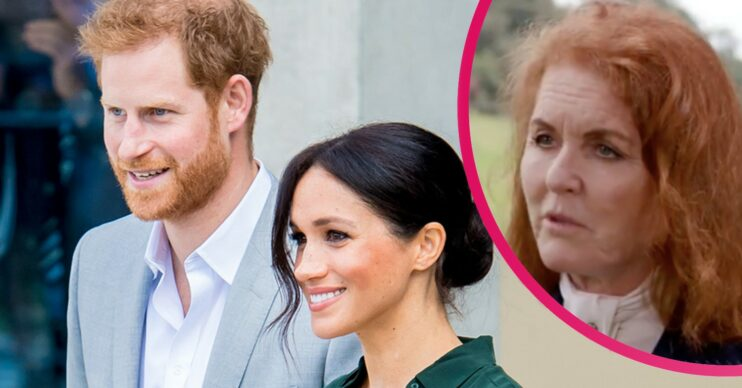 Sarah Ferguson opens up about Harry and Meghan in the news