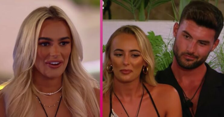 Love Island's Lillie tells Millie about Liam connection