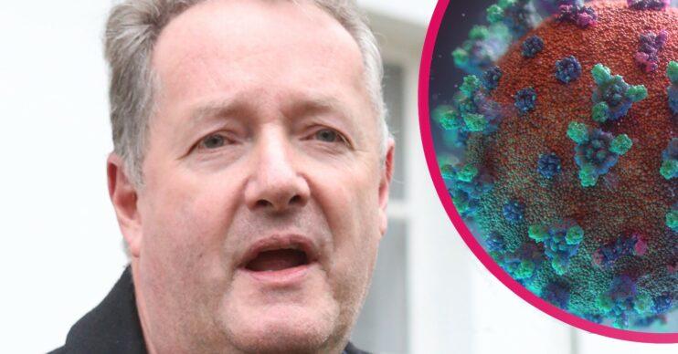 Piers Morgan asks for help amid COVID battle