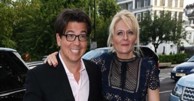 Michael McIntyre and wife Kitty step out