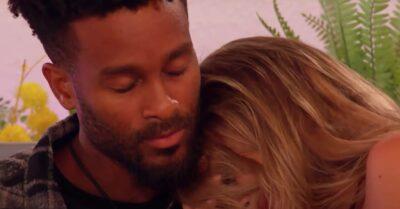 Love Island star Teddy Soares hugs Faye