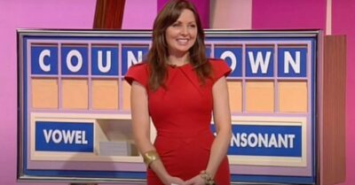 Carol Vorderman when she appeared on Countdown