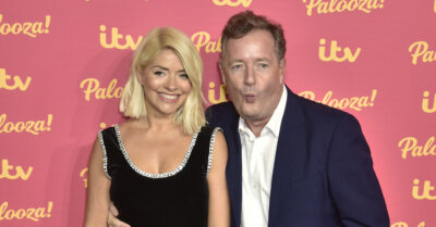 Piers Morgan and Holly Willoughby at ITV Gala