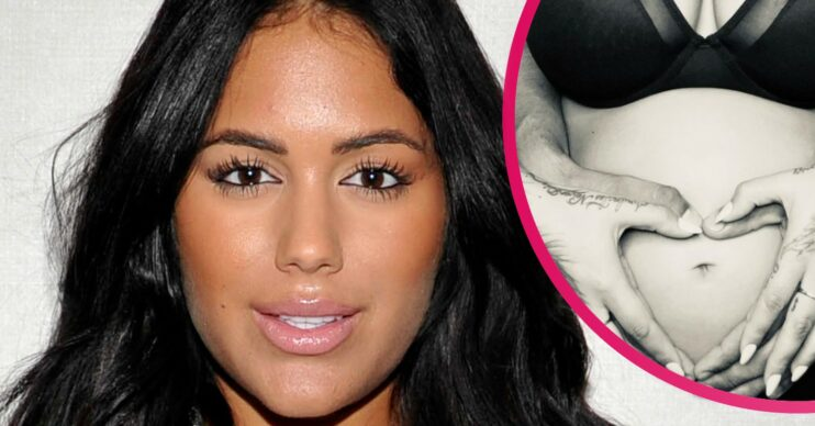 Malin Andersson reveals pregnancy news