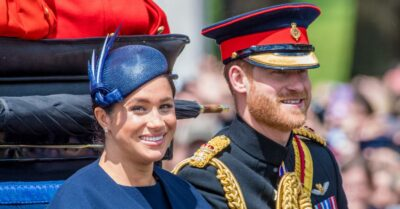 Meghan and Harry when they were still working royals