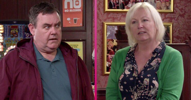 Coronation Street Tony Maudsley George and Eileen