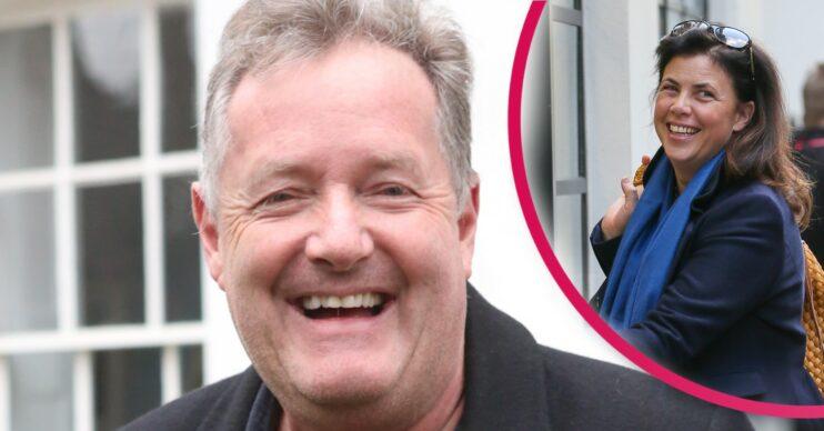 Piers Morgan and Kirstie Allsopp in Twitter row