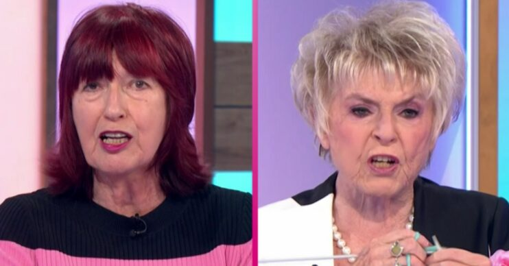 Loose Women today - Janet-Street Porter and Gloria Hunniford on the panel
