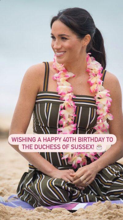 Meghan birthday