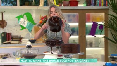 this morning chocolate cake