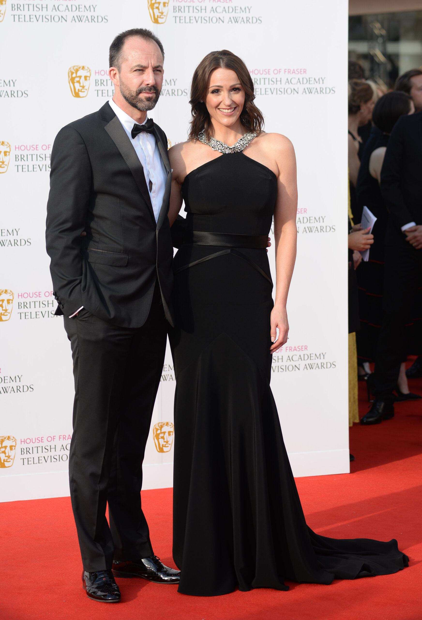 Laurence Akers and Suranne Jones
