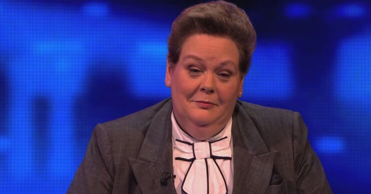 The Chase's Anne Hegerty points out players wardrobe blunder