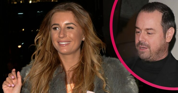 Dani Dyer boyfriend: Star shares topless picture of dad Danny on holiday