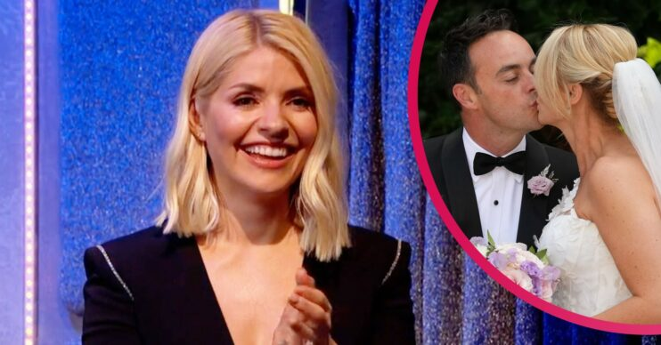 Holly Willoughny did not attend Ant McPartlin wedding