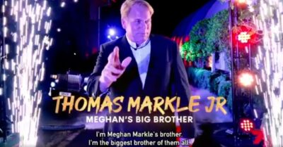 Thomas Markle Jr is part of Big Brother in Australia