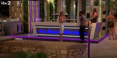 Love Island stars Faye and Teddy