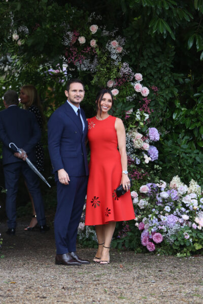 Christine Lampard and Frank Lampard at Ant McPartlin's wedding