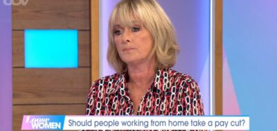 Loose Women today: Jane Moore shares thoughts on working from home