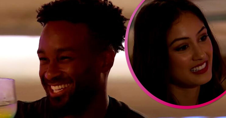 Love Island first look: Teddy goes on a date
