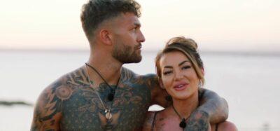 Love Island stars Abi and Dale leave the villa