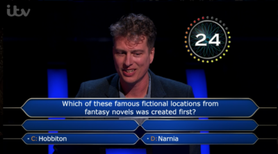 Who Wants To Be A Millionaire contestant Mark used all his lifelines on one question