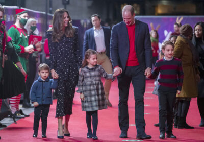 william and kate having tough talk with prince george