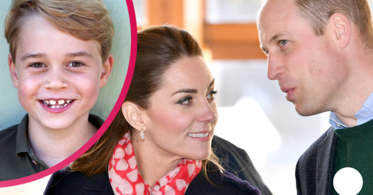 William and Kate facing rough talk with Prince George