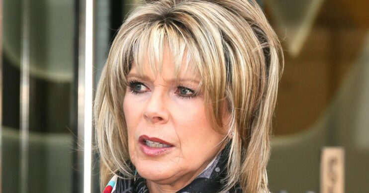 Ruth Langsford looking concerned