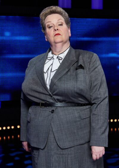 The Chase star Anne Hegerty