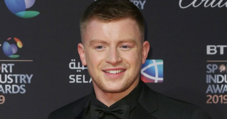 Adam Peaty has swapped the Olympic pool for the Strictly ballroom