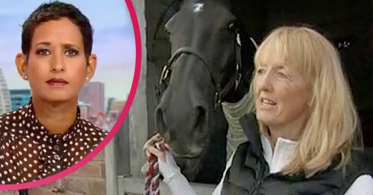 BBC Breakfast viewers were in hysterics after a woman revealed her very rude nickname for her horse