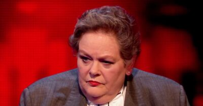 Jeremy Clarkson and Anne Hegerty