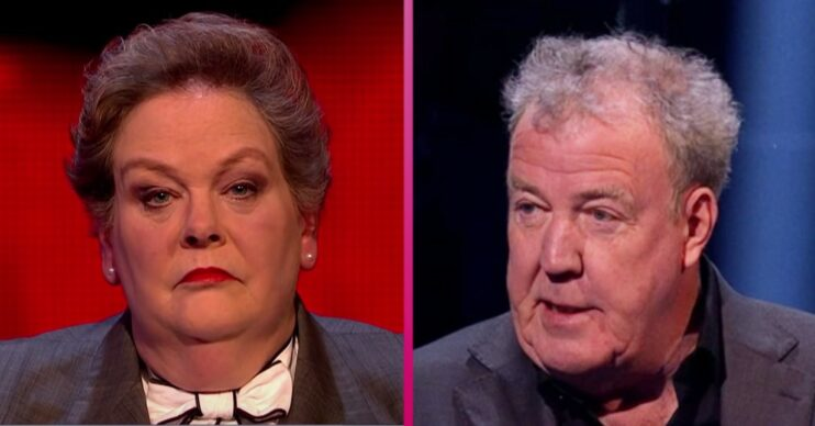 Anne Hegerty on The Chase and Jeremy Clarkson as he presents on ITV