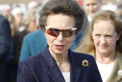 Anne, Princess Royal celebrating her birthday